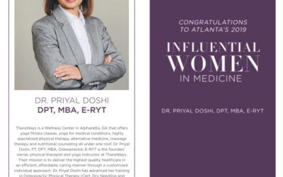 Dr. Priyal Doshi, Influential Women in Medicine